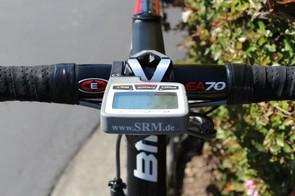 Van Garderen prefers an aluminum cockpit