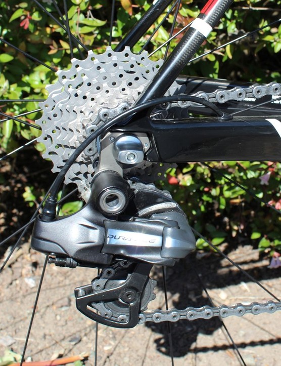 For the opening stage of the 2012 Amgen Tour of California, Van Garderen requested an 11-27 cassette