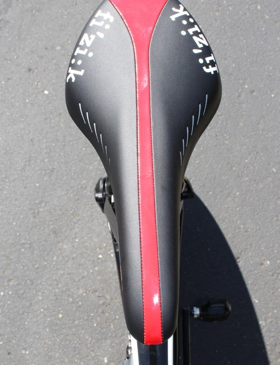 For time trials, Talansky prefers an Arione Tri model, with its padded nose