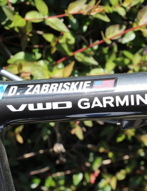 Gerard Vroomen and Phil While founded Cervélo; VWD stands for 'Vroomen White Design.' D. Zabriskie stands for 'very, very fast'