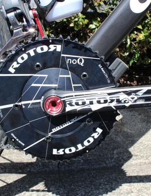 Road bike, time-trial rings
