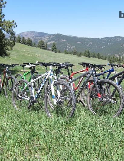 Ten mountain bikes for $1,000 or less