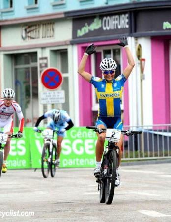 Jenny Rissveds (Sweden) wins