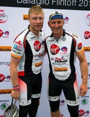 Dallaglio and Flintoff rightly pleased with their efforts in raising over £2m for charity