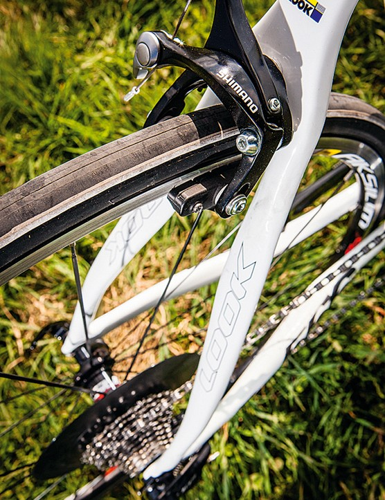 The twisted seatstays are designed for extra comfort