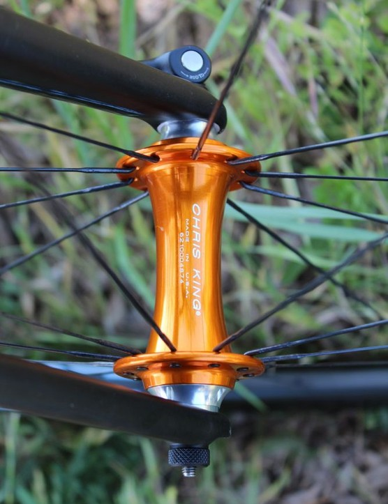 ENVE builds the 3.4 wheel with Chris King hubs