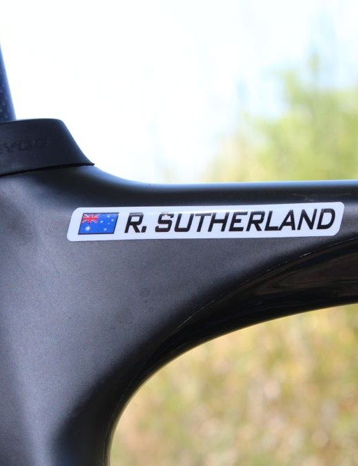 A southern-hemisphere partnership: Sutherland is Aussie; NeilPryde is Kiwi
