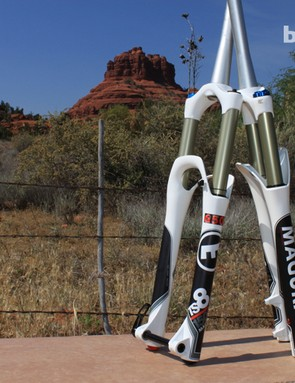 Magura launched their new medium and large wheel forks for 2013