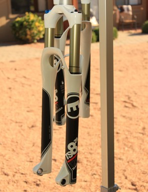 The 120mm TS8 29in fork