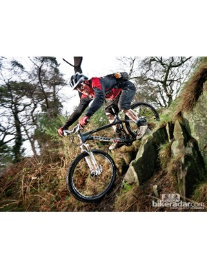 Get low over the back and enjoy some truly technical trail blasting