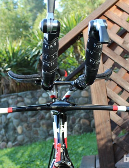 3T developed the Aduro integrated aerobar and stem exclusively for Cervélo