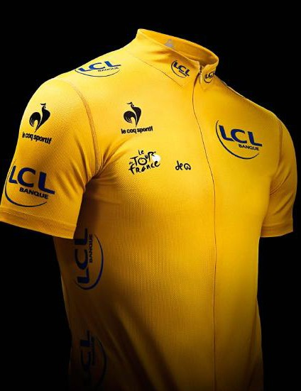 The yellow jersey is available now