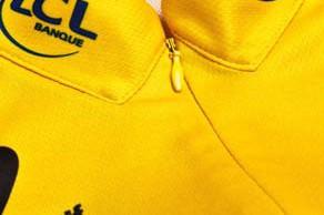 Le Coq Sportif's yellow jersey