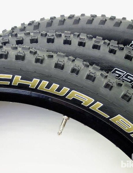 Schwalbe offer all three MTB tyre sizes from 26