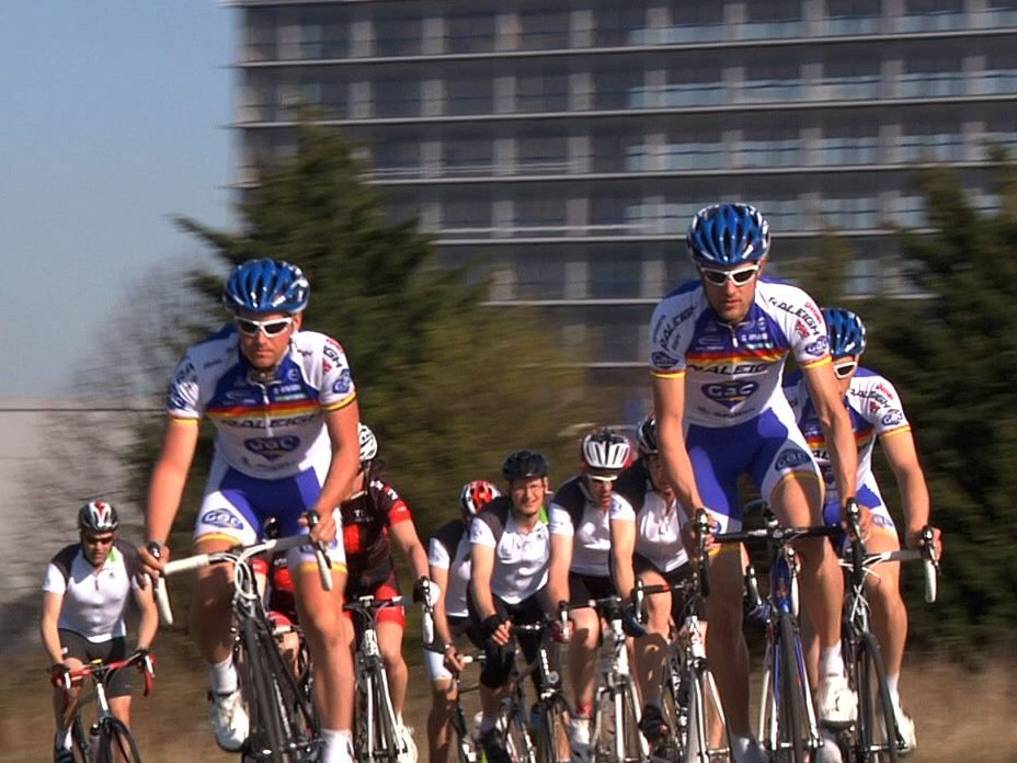 Learning how to ride in a group is the skill you need to pick up first after joining a club