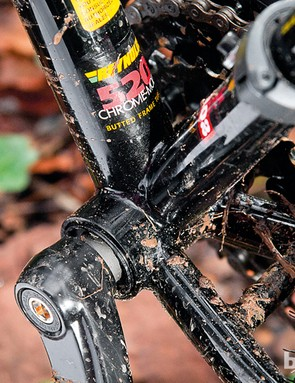 Reynolds 520 alloy frame gives a 'real steel' feel