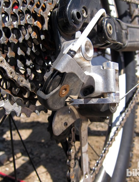 SRAM have revived the Avid Rollamajig concept for the XX1 rear derailleur