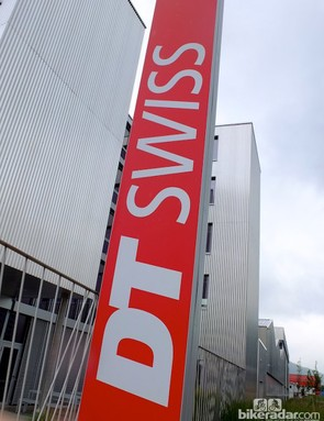 The DT Swiss factory and headquarters in Biel, Switzerland