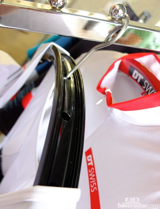 DT Swiss take obsession to new levels with these neat clothes hangers!