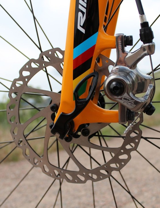 Hayes CX Five discs provide X-Fire's stopping power