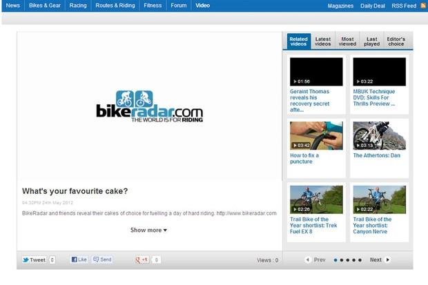 BikeRadar video starts here