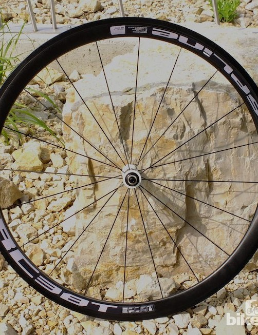 The for now, tubular-only RC38T Spline wheel offers more affordable performance