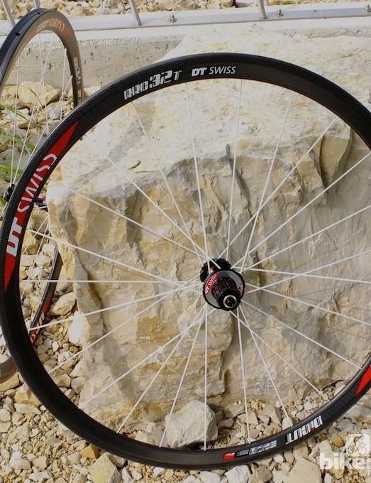 The 1090g RRC32 T Dicut tubular wheels should be fine climbing wheel