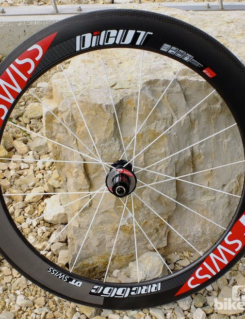 At 66mm, the RRC66 C is the clincher version of the deepest section DT Swiss wheel