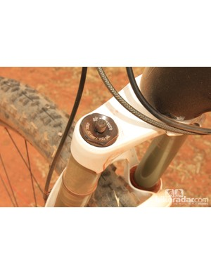 Setting the fork up is simple by way of a positive air spring plus rebound and compression adjustments