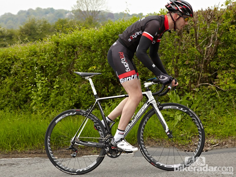 The Carbon RS-1 is a fast race bike with outstanding handling and sprinting performance