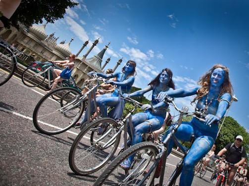 Julia Claxton Photography | 2011 World Naked Bike Ride in