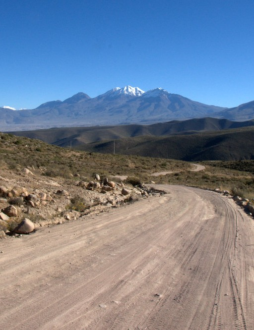 Looking back at Chachani and Misti route 34D – it's marked as a major road on maps!