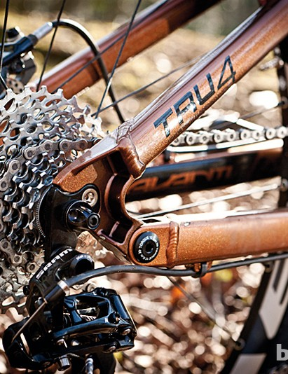 The Tru-4 suspension system works efficiently and is nicely stiff