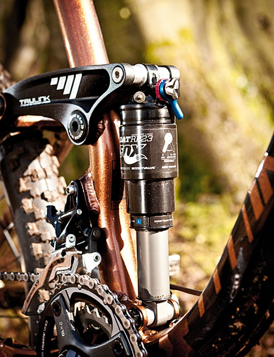 The RP23 shock offered plenty of adjustment but wasn't as sensitive as we'd have liked