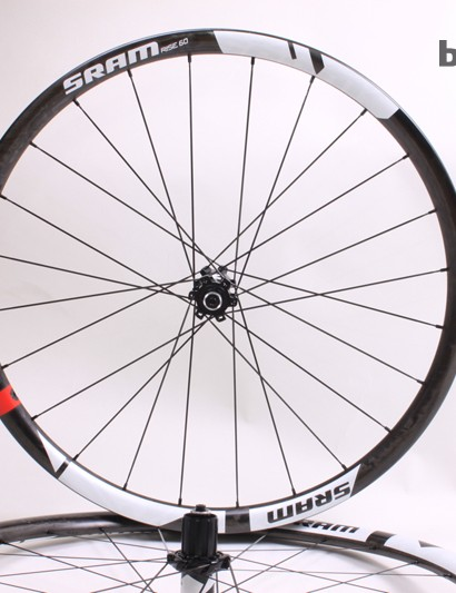 High quality hubs, and Sapim CX-Ray spokes finish the package