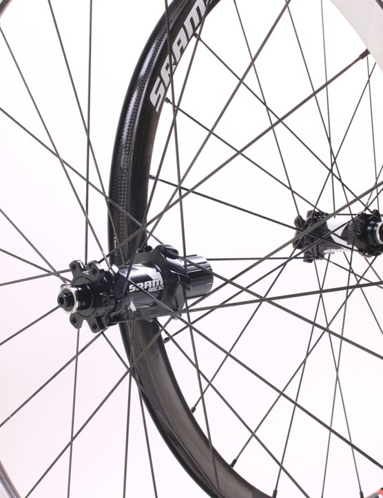 SRAM's hubs are compatible with the most popular cross-country/trail axle standards