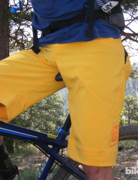 We found the four-way stretch material to be supremely comfortable, though slightly delicate