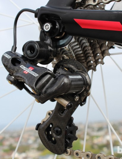 The rear EPS derailleur