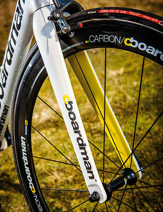 Boardman's top-value spec includes ready-to-race tubular wheels and top-quality tyres