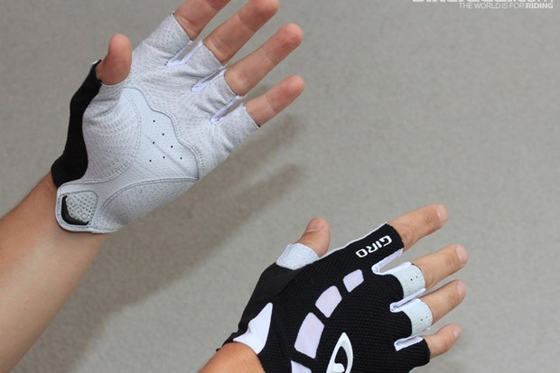 The Giro Zero gloves offer a little safety without padding