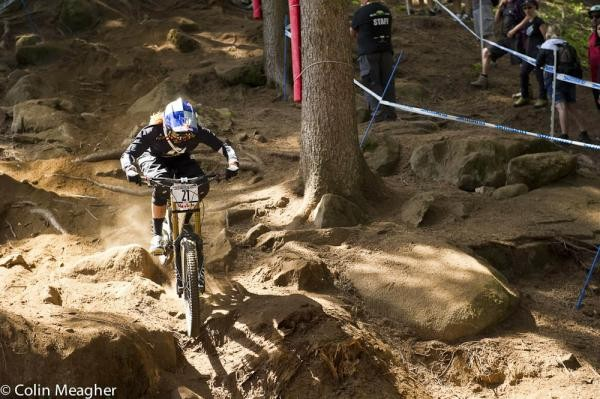 Rachel Atherton ( GT Factory Racing) women's winner in Val di Sole