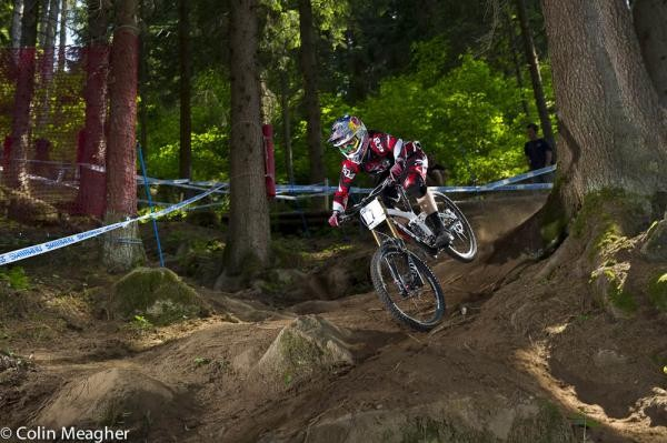 Aaron Gwin (Trek World Racing), men's winner in Val di Sole