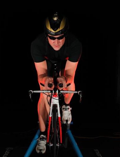 Eddy Merckx Cycles ETT testing inside a Lexus wind tunnel