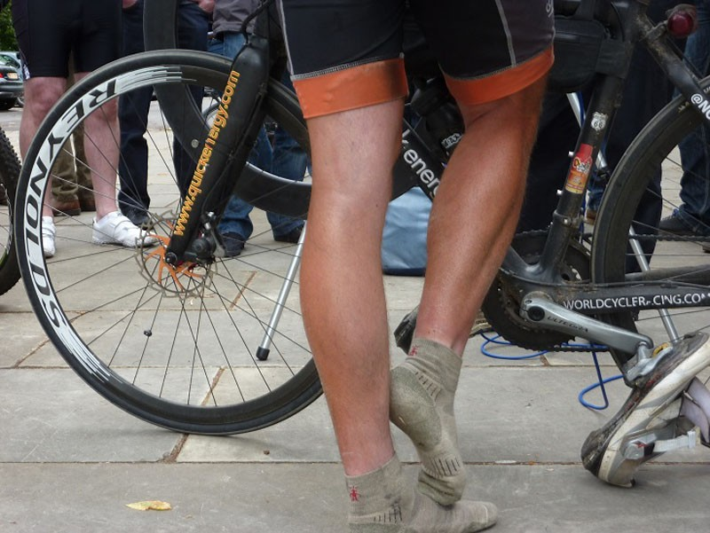 Those legs must ache...