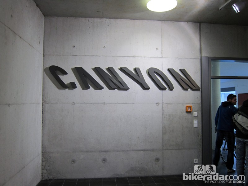 Canyon's stark aesthetic is reflective of the company's engineering-centric nature