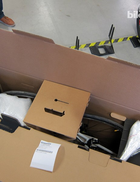 The company's shipping boxes and packing methods are quite impressive