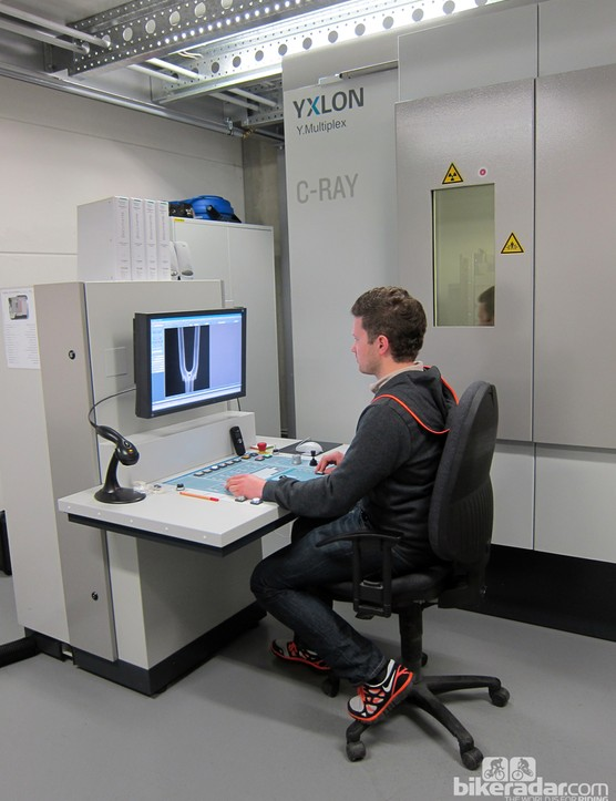 Canyon's CT scanner can resolve internal and external features with a maximum resolution of 0.2mm