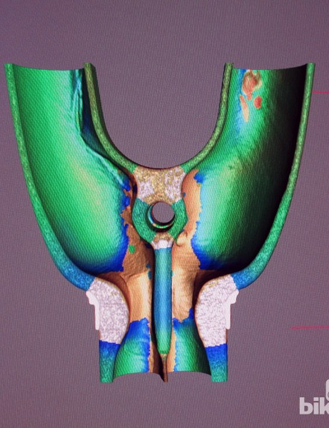 High-resolution 3D CT scans can be rotated, translated and sliced on screen