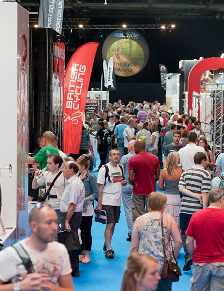 The Cycle Show at the NEC in Birmingham is back for 2012