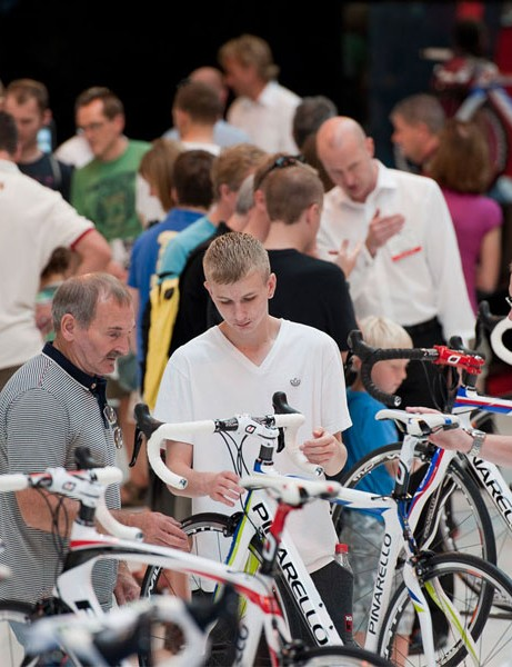 Check out all the latest bike gear at the Cycle Show 2012